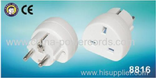 UK adaptors with CE certification