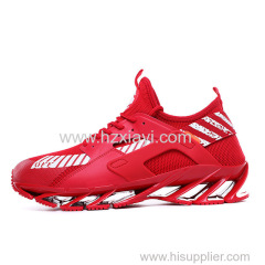 Fashion sports shoes sneakers men running shoes spring blade shoes men brand