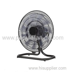 "EC Floor Fan With Brushless Permanent Magnet EC motor Wifi Bluetooth Radio Frequency Remote-18"" Black Style"