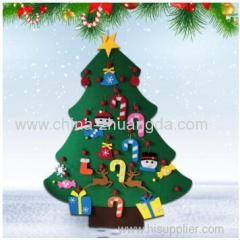 Wool felt toys Christmas Tree Hanging Decoration Pendant Bunting Home Decor Event Party Supplies