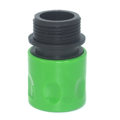 Plastic 3/4  male thread snap-in quick connector