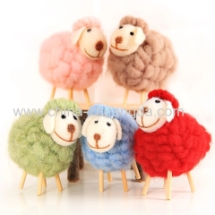 All kinds of DIY Handmade Craft Needle Felted toys