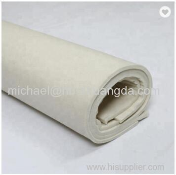 Wholesale White 100%premium industrial machinery insulation wool felt fabric and compressed wool felt