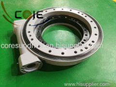 man lift crane and attachment slewing drive slewing bearing worm gear