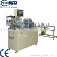 Clear plastic cylinder tube forming machine