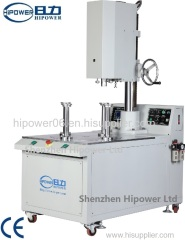 Automatic rotary cylinder bottom welding machine pvc cylinder bottom welding machine