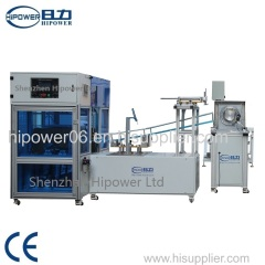 Automatic transparent Cylinder forming and edge curling machine