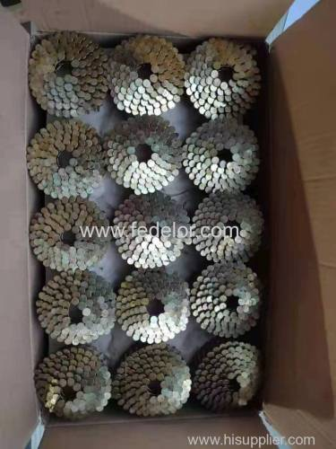 Wire Welded Coil Roofing Nails-15 Degree