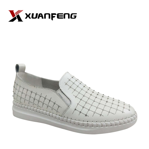 Fashion Women's Leather Loafers Casual Shoes