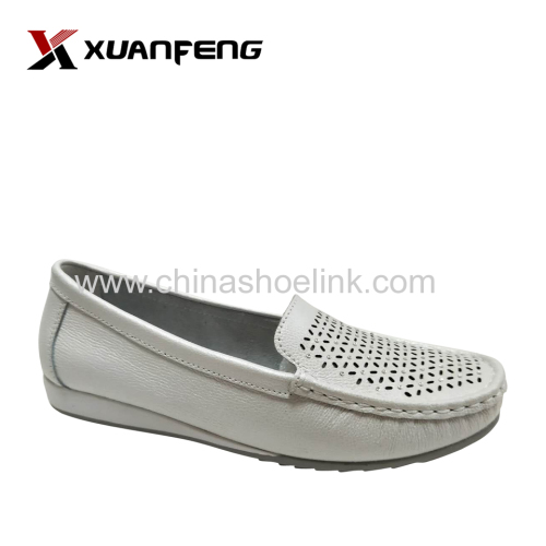 Fashion Women Summer Comfortable Leather Loafers Shoes