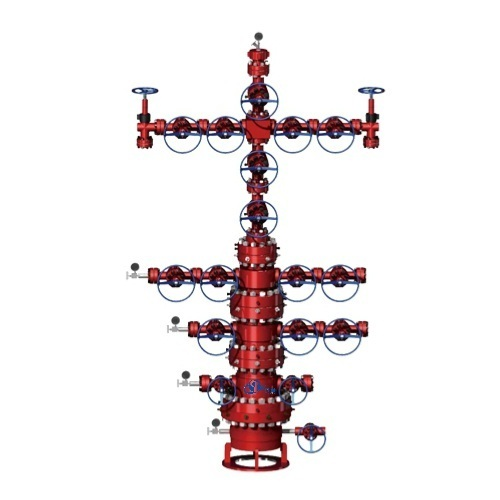 API-6A Wellhead Assembly & Xmas Tree for Oil & Gas Well