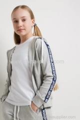 Childen Girl jacket fleece with hood