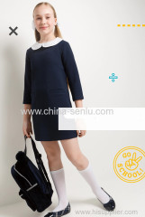 childen's girls dress with deco collar