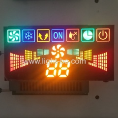 custom led display;multicolour led display;air conditioner display;customized display
