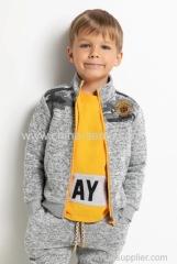 Childen's boys jacket with print detalis