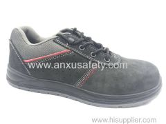 AX06005 suede leather safety shoes