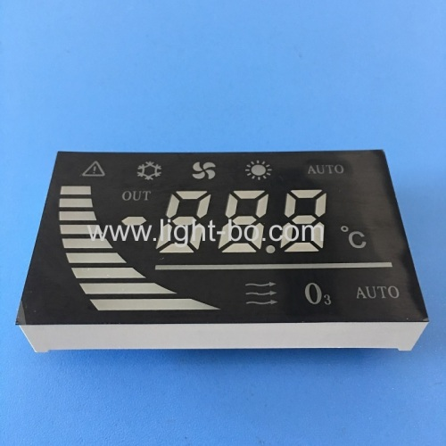 Customized 7 Segment LED Display Module for Automotive Instrument Panel