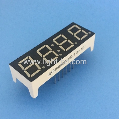 High bright blue 0.39 4 Digit 7 Segment LED Clock display for home appliances