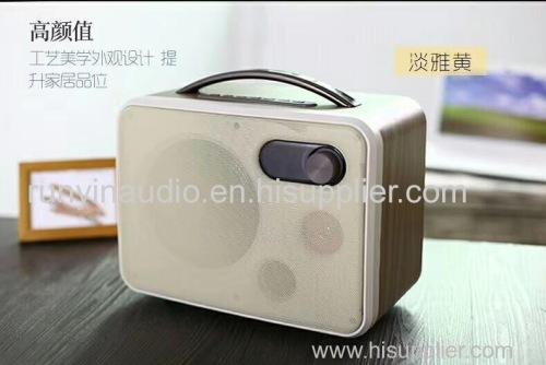 Super Loud Multi-function Wireless wooden Mini Music Portable Bluetooth Speaker