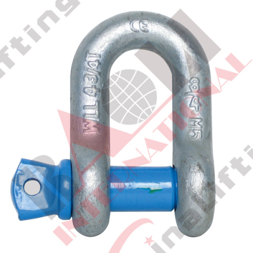 US TYPE HIGH TENSILE FORGED SHACKLE G210 S210 21108 21109 21110 21111 21112 21113 21114 21115 21116