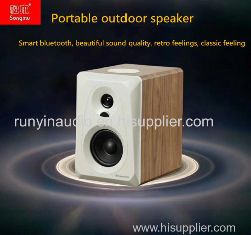 Factory provide Audio Player Bluetooth Desktop Speaker 7.4V with lithium battery pack