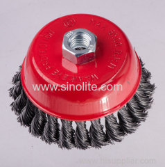 Twist Wire Cup Brush 65mm 75mm 85mm 100mm 125mm 150mm