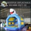 Shark jumper inflatable bouncer castle