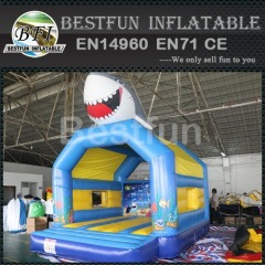 3D Shark Inflatable bouncer jumper