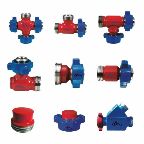 API6A Integral Pipe Fitting Tees Crosses Crossover Laterals Wyes Elbows
