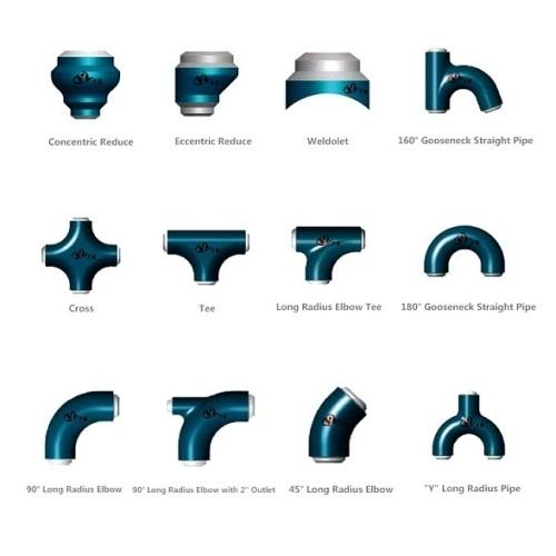 High Pressure Fittings API 6A Elbow Tee Cross Reducer Short Radius Elbow Long Radius Elbow