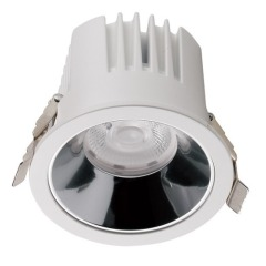 12W Recessed led downlights Anti Glare