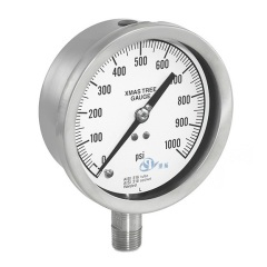 Pressure Gauges Manometer for Wellhead Assembly Christmas Tree