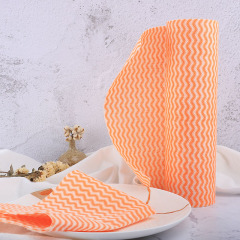 Non-woven Spunlace Roll Nonstick Wiping Rags Disposable Kitchen Cleaning Wipes
