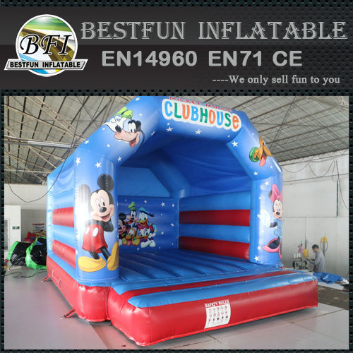 Mickey Mouse Theme Inflatable Bounce House
