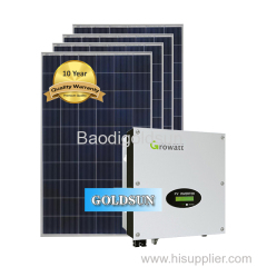 Solar power system on-grid 10kw