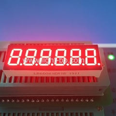 "0.36"" 6 digit;6 digit led display;6 digit 7 segment;0.36inch 6 digits;six digit led display"