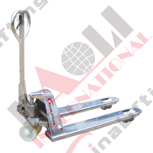 PALLET TRUCK DF-I MODEL (STAINLESS STEEL TYPE )