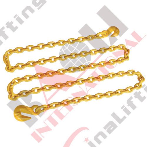 G80 CHAIN WITH HOOK WELDED