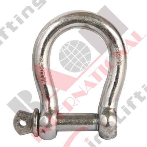 COMMERCIAL GALV. BOW SHACKLE