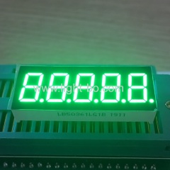 0.36inch pure green;pure green display