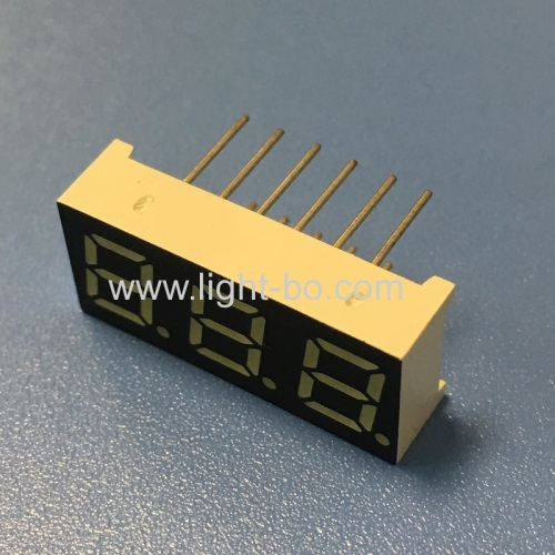 0.28inch 3 Digit ultra white 7 segment led display common cathode for instrument panel