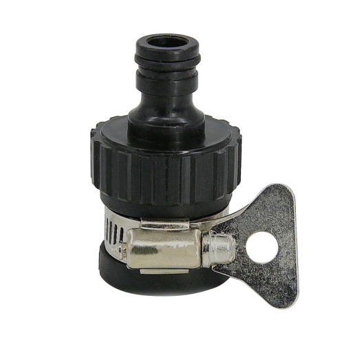 outdoor universal tap fitting with clamp