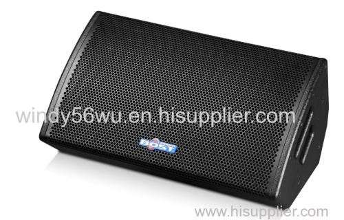 15 inch professional pa 2 way loudspeaker