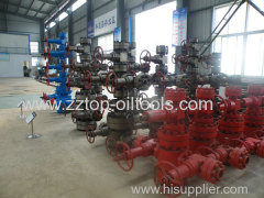 API 6A Wellhead Christmas Tree 3000 psi Working pressure