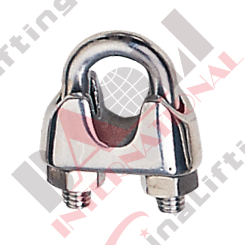 S.S. WIRE ROPE CLIP U.S. MALLEABLE TYPE AISI :304 or 316 22379S 22380S 22381S 22382S 22383S