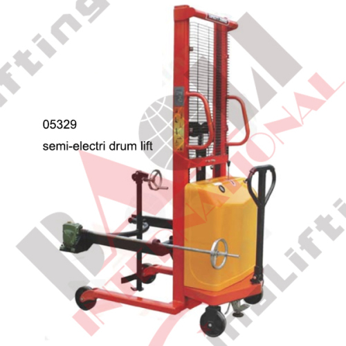 SEMI-ELECTRIC DRUM LIFT
