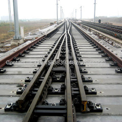 China Factory Sales Standard Rail Track Turnout for Railway Rail Turnout Price