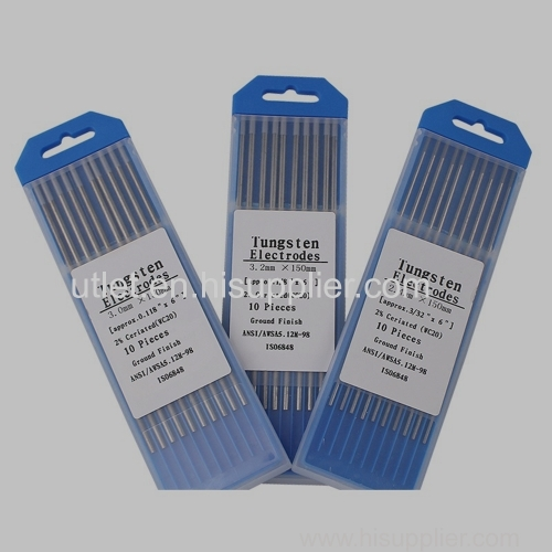 Ceriated (Grey color) tungsten electrode