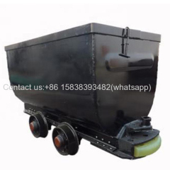 mine car for sale with factory price and high quality railway track fixed coal mine wagon