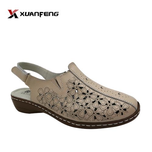 Comfortable Handmade Summer Woman Leather Sandals